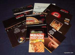 cataloghi Marklin Z mini club