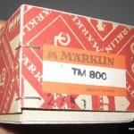 Marklin TM 800 scatola, istruzioni (1)