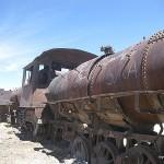 Cimitero treni in Bolivia
