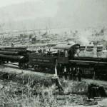 Locomotive trasporto legno