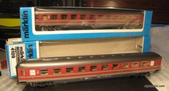 Marklin 4189 – Carrozza della FS di seconda classe