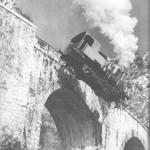 Locomotiva sacrificata per un film