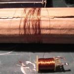 12 - riavvolgete il filo in modo che il rame sia ben ripartito
