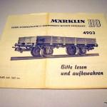 Marklin 4903