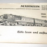 Marklin 3060, 3062