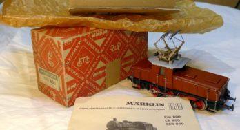 Marklin CEB 800, Maerklin 3002 – prima versione