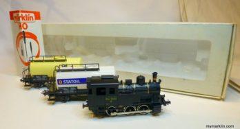 Marklin 2844 – DSB – Kesselwagen-Zug