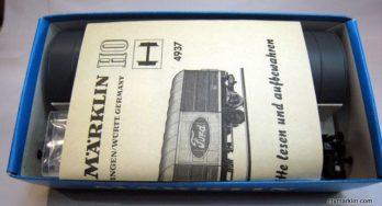 Marklin 4937 – scatola montaggio vagone Ford – Nuovo!