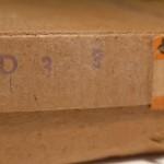 Il timbro D 3 3 attesta che la scatola corisponde al Marklin 3600 DKWS