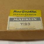 Marklin 7193 scatola orignale marrone (5)