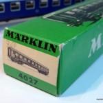 Marklin 4027 scatola