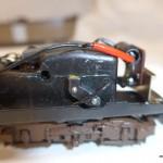Blocco motore caratteristico delle 2 prime versioni