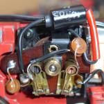 Blocco motore con nuovi componenti elettrici