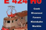 Nuovo libro di A. F. Ferrari sulle E424 in H0