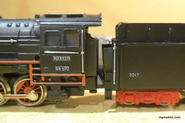tender Marklin 3047 seconda versione
