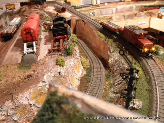 Schemi Elettrici Per Modellismo Ferroviario : Tracciati ferroviari in scala ho e scenografia per plastici