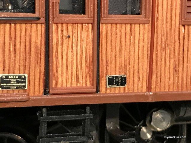 locomotive marklin  in legno vero