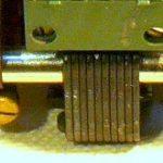 Telaio composto di 2 parti unite da un potente motore