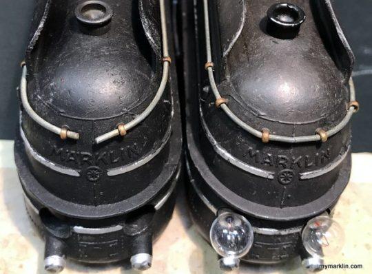 Marklin SK800 Brüniert rarissima versione con 14 ganci circolari