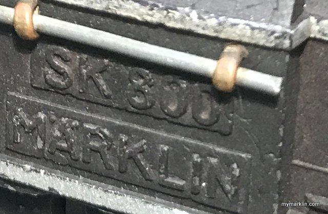 Il famoso colore bruniert della Marklin