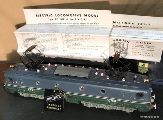Pocher CC 7107 SNCF dal prototipo al modellino