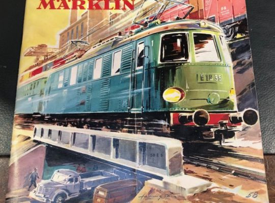 Catalogo Marklin 1958