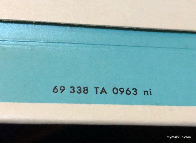 scatola delle 3038 fabbricata nel settembre 1963