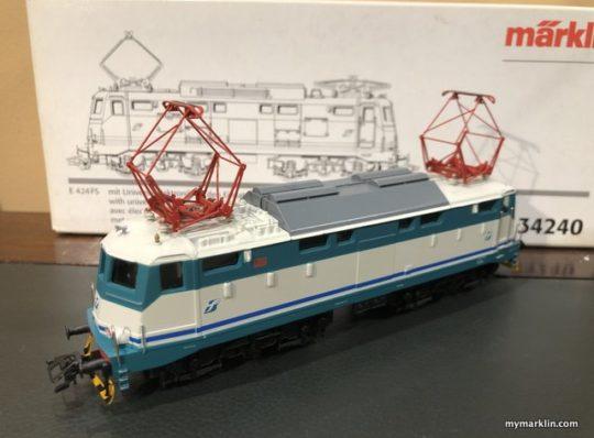Locomotiva FS E424 Marklin 34240