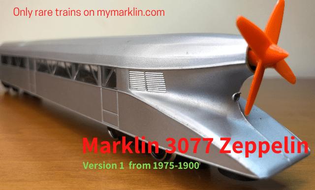 Marklin 3077 SchienenZeppelin