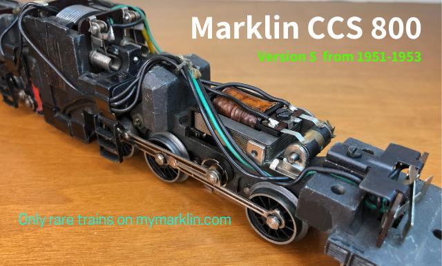 Marklin CC 800 rara versione 5